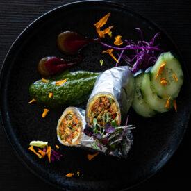 Kathi Roll - Celebration by Rupa Vira - Indian Cuisine, Ashburn, VA